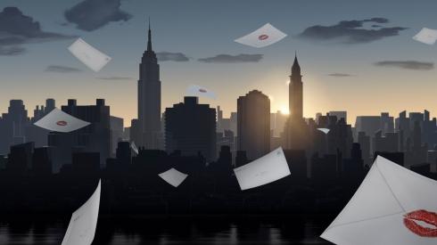 Burberry Kisses - Skyline (New York)