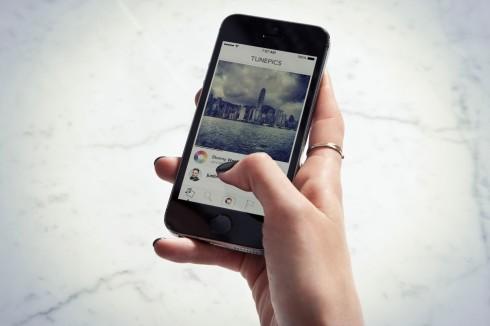 Tunepics on the iPhone
